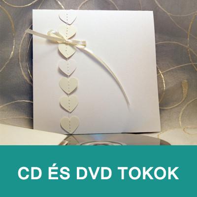 CD és DVD tokok