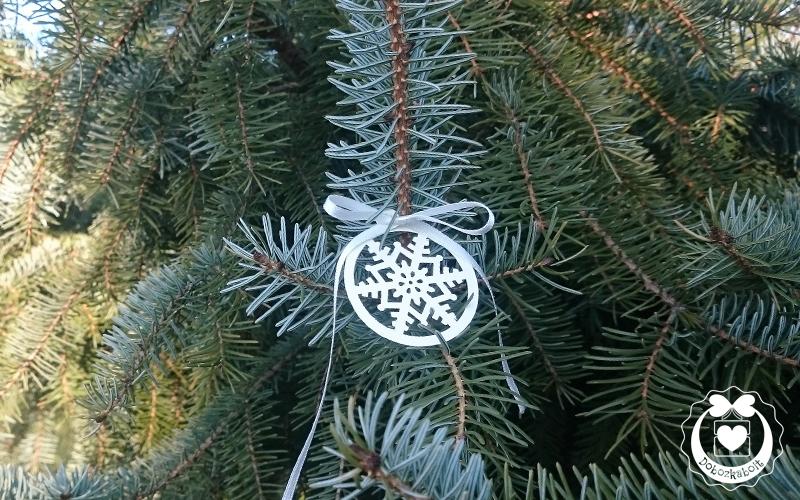 Egyszerű karácsonyfadísz