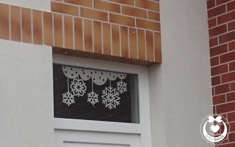 Hópihés ablakdísz